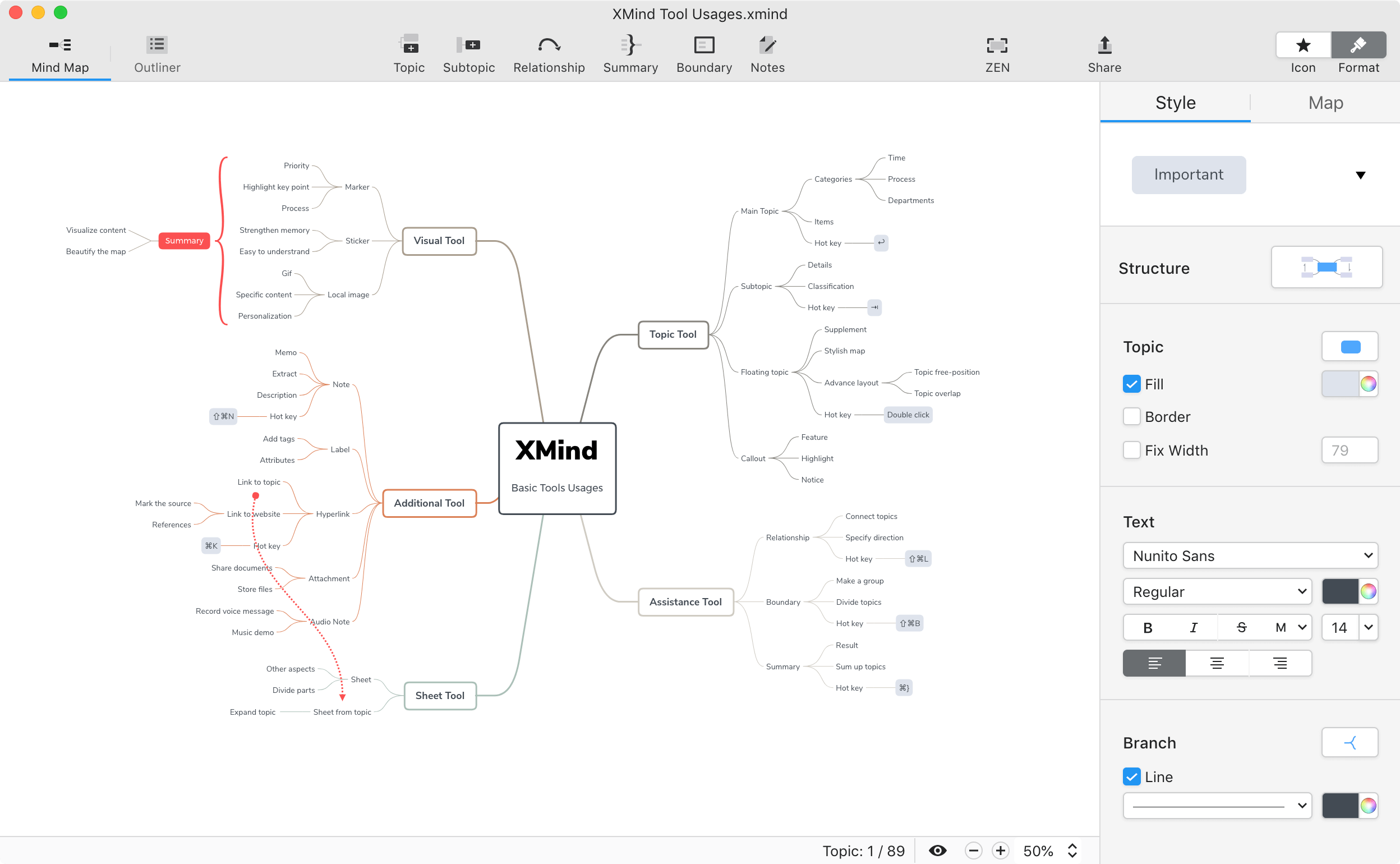 XMind website image