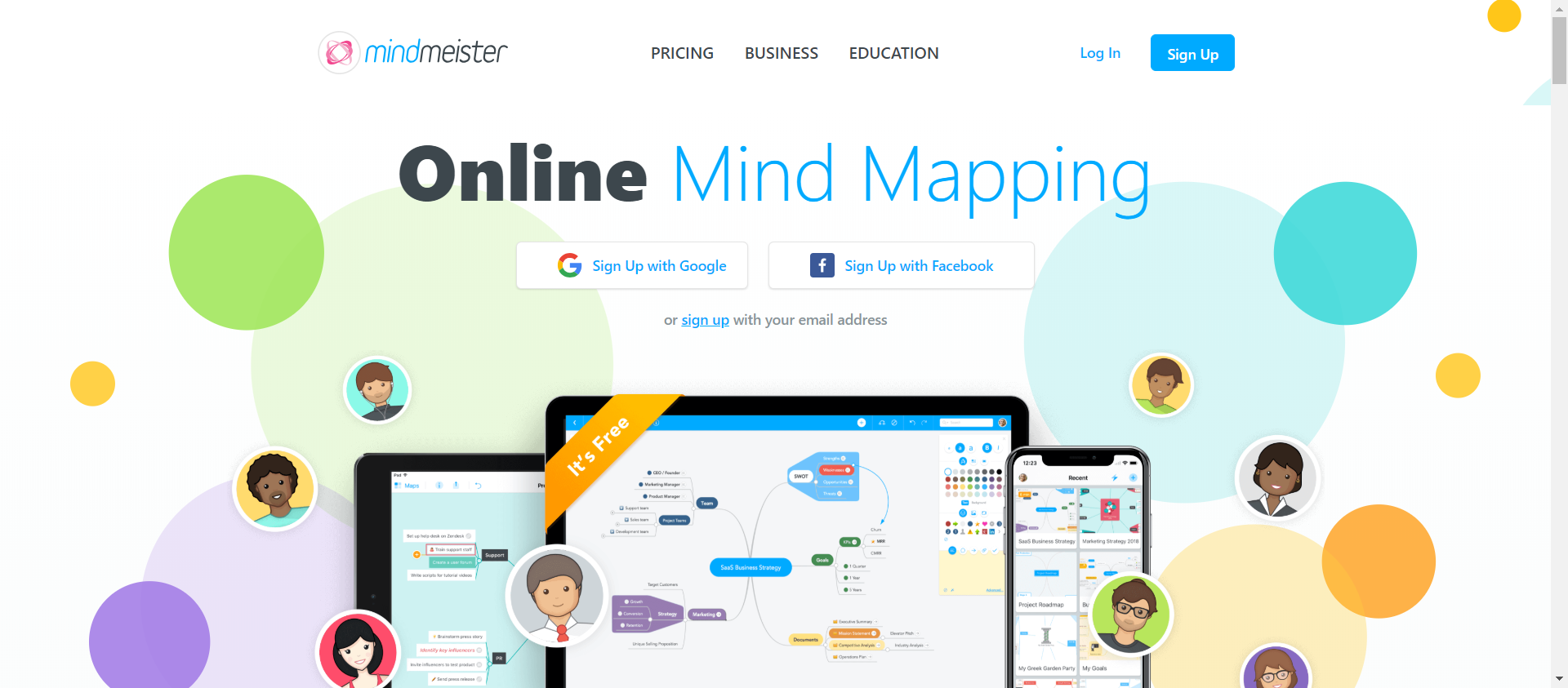 MindMeister website image