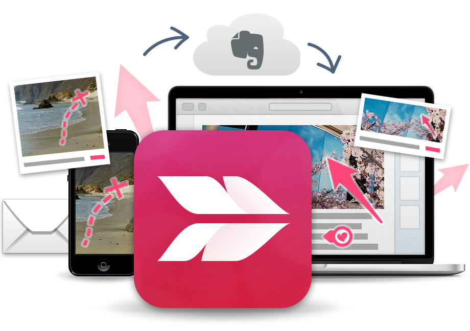 Skitch website image