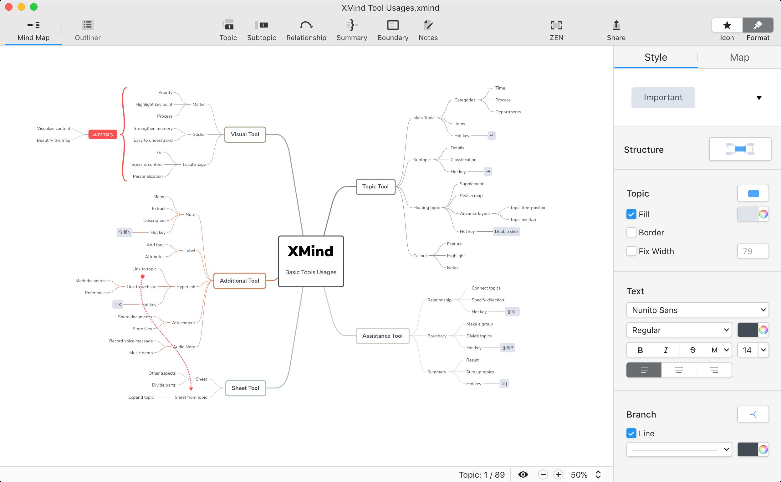 XMind website image