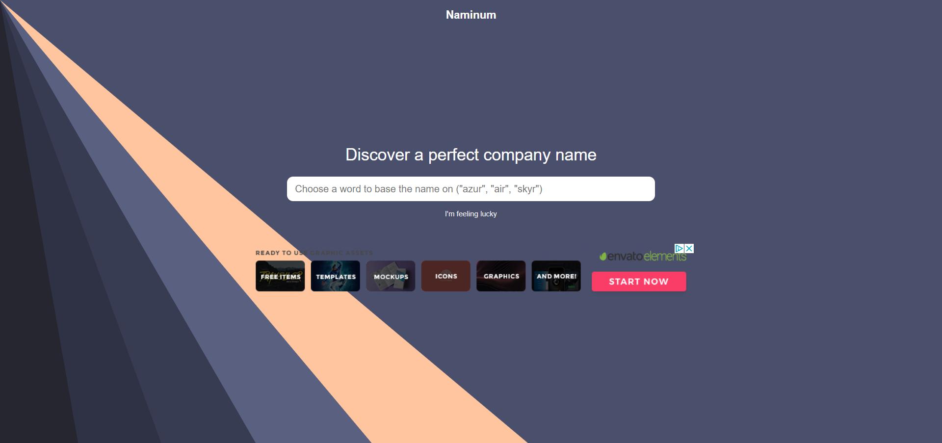 Naminum website image